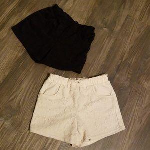 Little girls shorts bundle